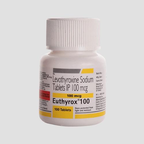 Levothyroxine-100-mcg-Euthyrox