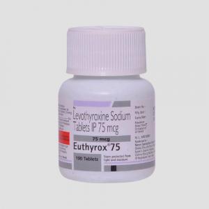 Levothyroxine-75-mcg-Euthyrox